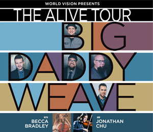 Big Daddy Weave – Alive Tour 2019