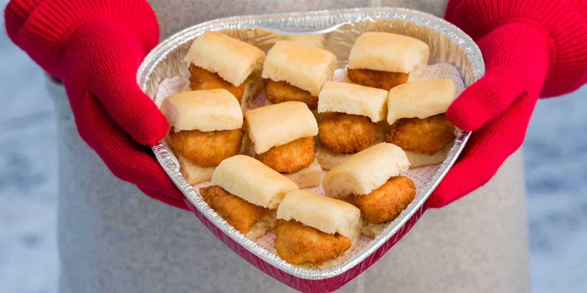 Instead of loving 'Chick Fil A', 'Chick Fil A' now is love.