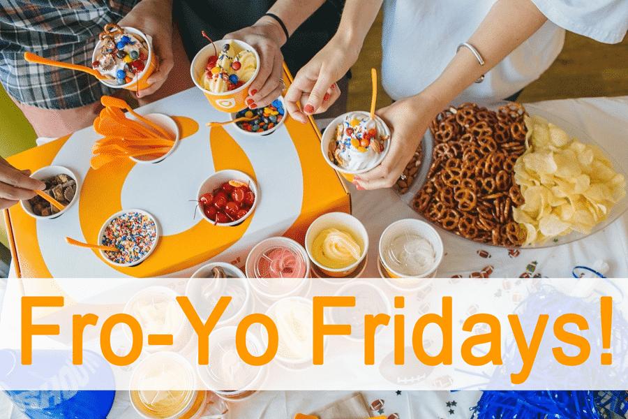 Fro-Yo Fridays with Orange Leaf Yogurt of Holland!