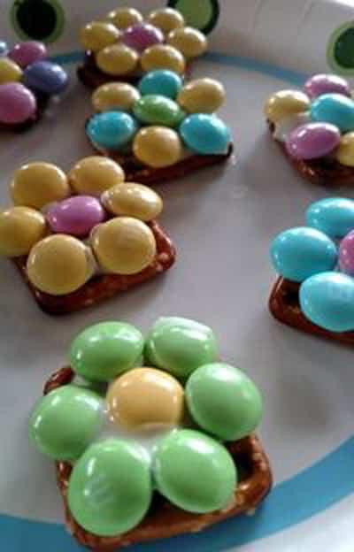 Spring Pretzel Bites