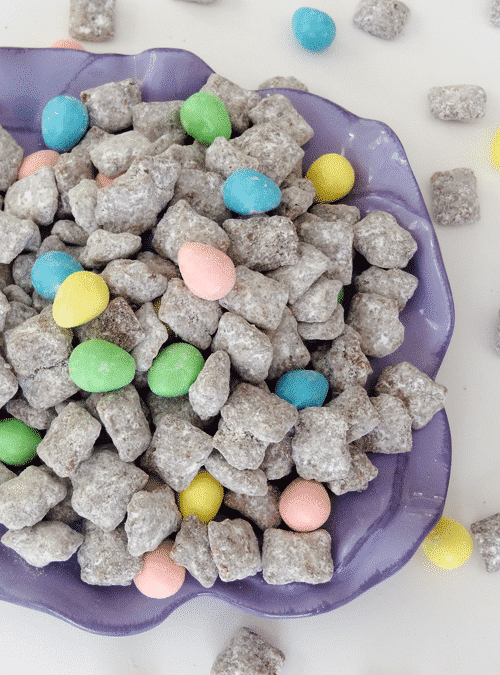 Easter Candy Puppy Chow??