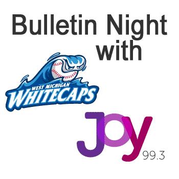 West Michigan Whitecaps Bulletin Night