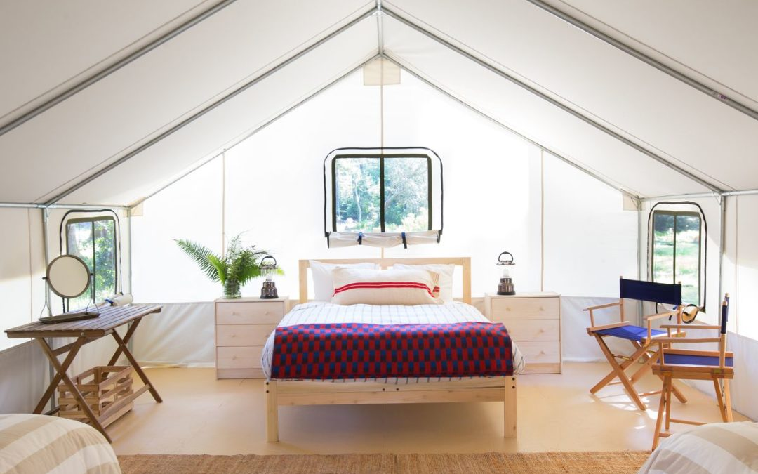 Now there's Luxury Glamping.