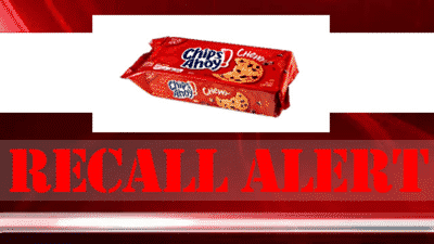 Chocolate Chip Cookie Recall