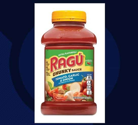 Spaghetti Sauce Recall!