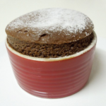Mom Tip: Two Ingredient Chocolate Souffle