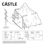 IKEA Shares Blanket Fort Blue Prints for Quarantine FUN