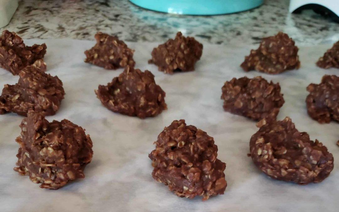 Throwback No-Bake Cookies