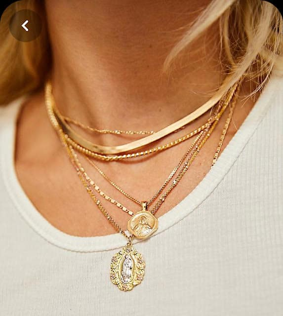 New Way to Wear Your Old Necklaces