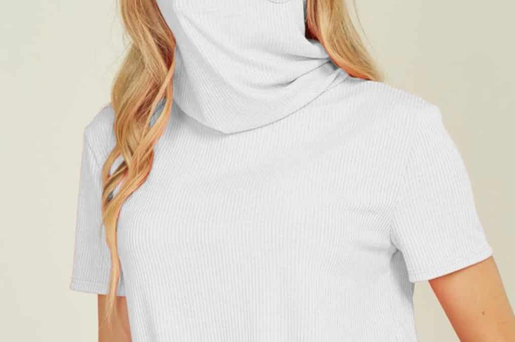 Creating your own face masks from turtlenecks