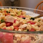 Greek Chicken and Orzo Salad